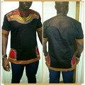 Женщины Африканских Одежды Горячей Продажи Нового Прибытия Спандекс 2016 мужская Футболка Tee Shirt Африканских Мужчин Одежда Dashiki