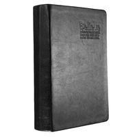 Wholesale 5pcs of Book From Bloc Notes Memo Paper Notebook Agenda Black PU Leather Journal