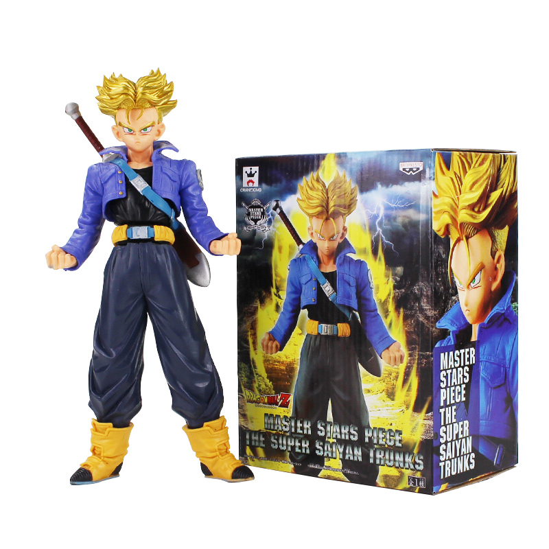 Dragon Ball Z Super Saiyan Trunks MSP Master Stars Piece PVC Figure Collectible Model Toy DBZDragon Ball Z Super Saiyan Trunks MSP Master Stars Piece PVC Figure Collectible Model Toy DBZ