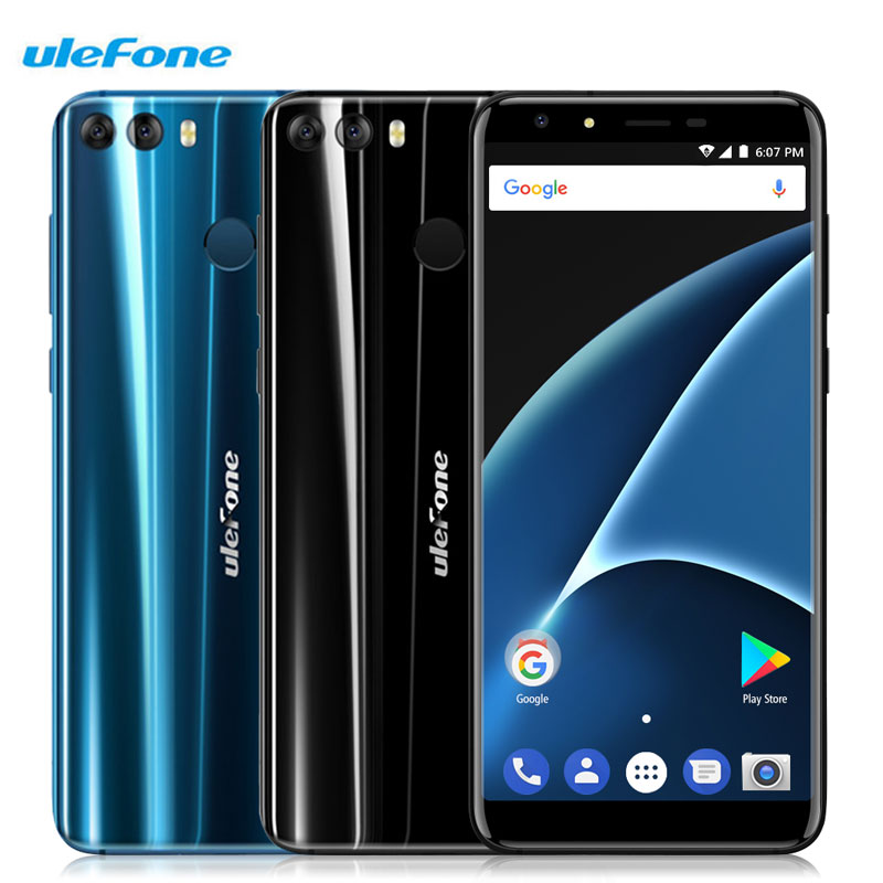 Ulefone Mix 2 5 7 Inch Smartphone 13MP 8 0MP Dual Cameras Fingerprint Android 7 0