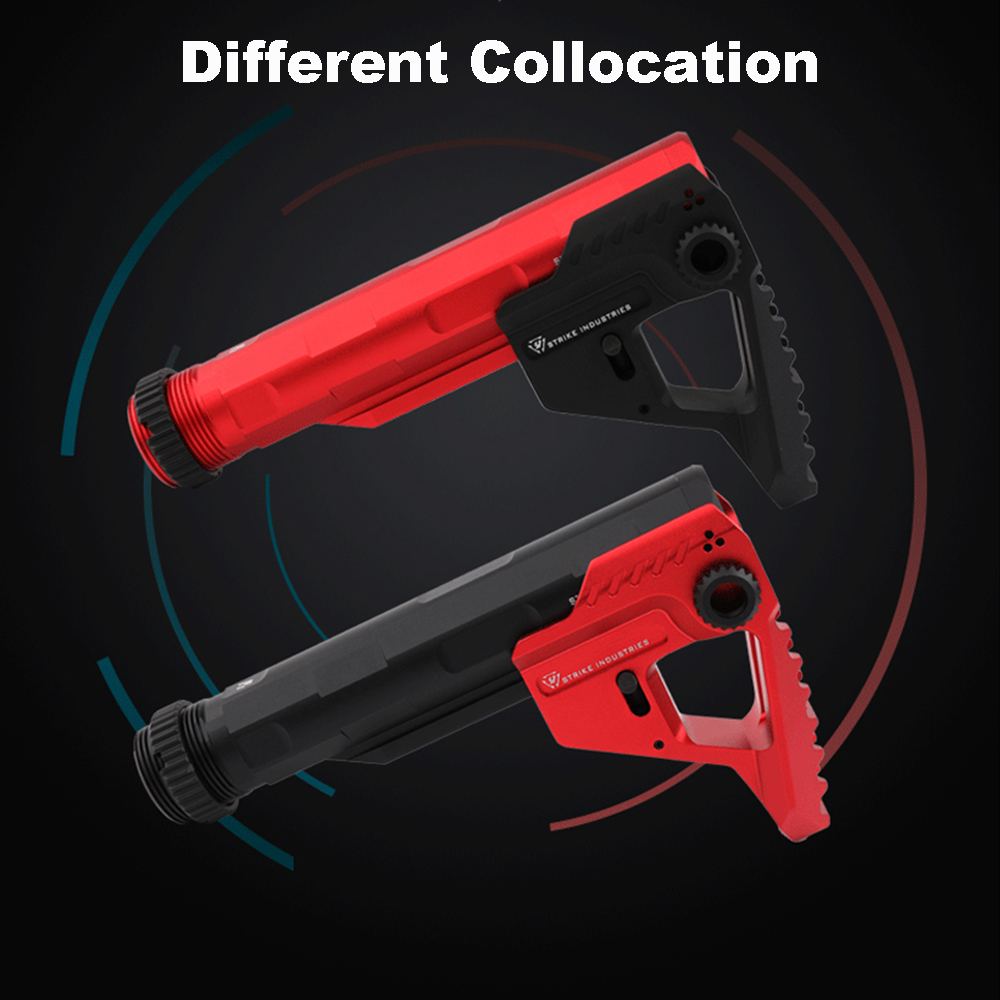 CNC Buttstock Position Stock For AEG Airsoft Air Guns M4 M16 Paintball Hunting Accessories for BD556