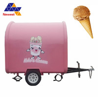 Factory price China mobile hot dog food cart for sale ,mobile food cart price ,Thailand ice cream roll fast truck mobile cart