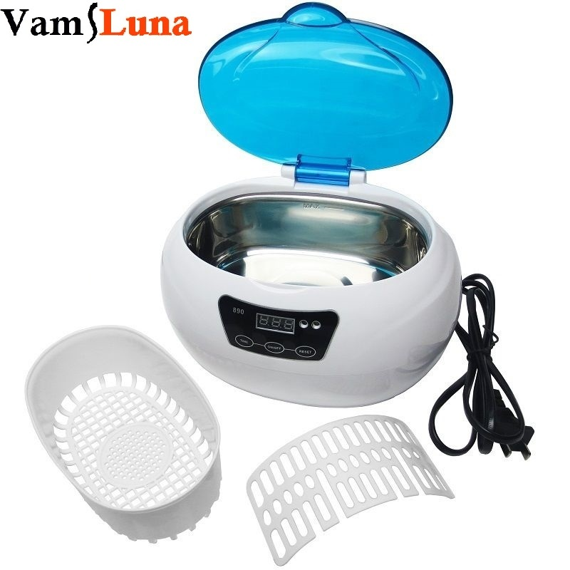 Sterylizator narzędzi do paznokci - 600ML Ultrasonic Cleaner for Metal Tool, Watch Salon Beauty Equipment