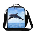 2016 Thermal Shark Kids Lunch Bag 3D Animals Print Lunch Box Children Picnic Lancheira Termica Lunch Box Student Picnic Food Bag