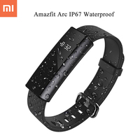 2017 NEW Huami Xiaomi Amazfit ARC A1603 IP67 Waterproof Smart Bracelet Heart Rate Monitor Sports Fitness