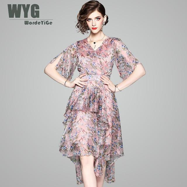 86ee2e1989 Floral Chiffon Dress – Fashion dresses
