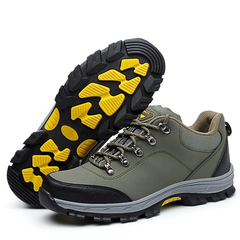 Biqueira Color Segurança De Tampas Couro Dos Homens Primavera Ferramental Picture Genuíno Sapatos Outono Aço Plataforma Tamanho Grande Respirável Do Trabalho Botas Casuais CB4q1Xw