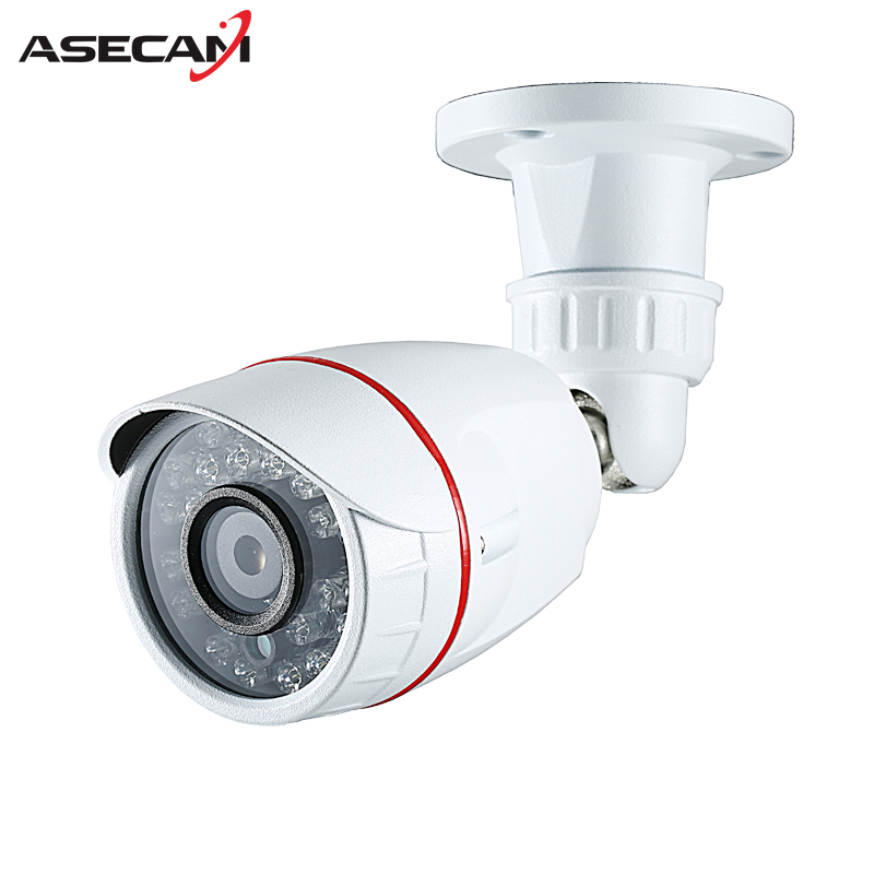 New 2MP HD 1080P AHD Security Camera CCTV White Metal Mini Bullet Video Surveillance Waterproof IR Night Vision Vandal-proof hd bullet outdoor mini waterproof cctv camera 1200tvl ir cut night vision camara video surveillance security camera