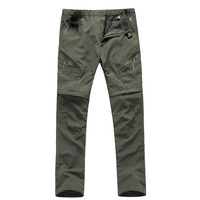 Men quick-drying pants Waterproof breathable perspiration quick-drying UV trousers cycling outdoor Camping Hiking