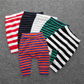2016 Winter Thickness Cotton Unisex Stripe Baby Boys girls Legging Pants Trousers Newborn Pants Pantalon Garcon 0-24Months