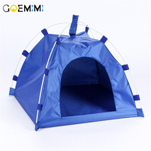 Portable Folding Pet Tent Dog House Cage Cat Playpen Puppy Kennel Easy Outdoor Supplies