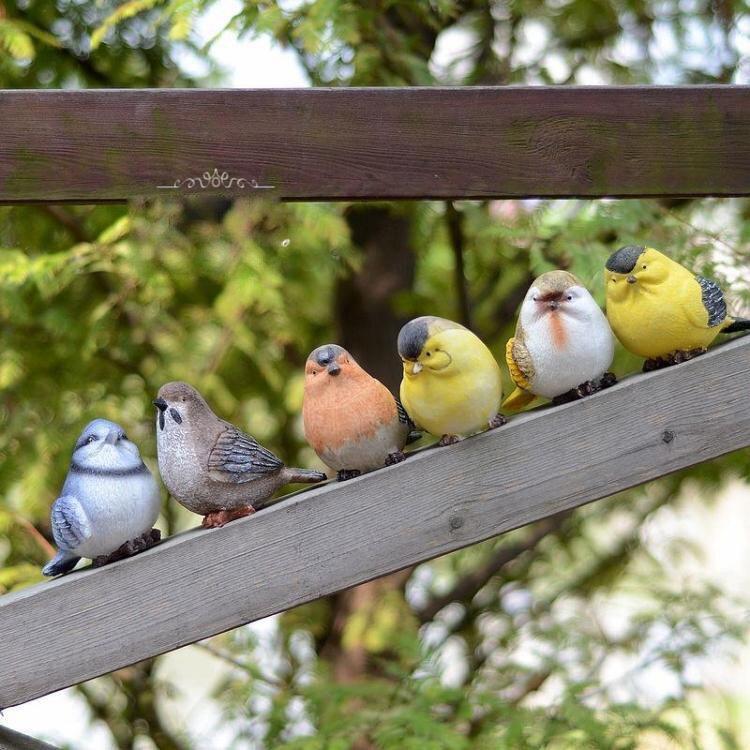 Creative Garden Outdoor Decorations Gardening Decor Birds