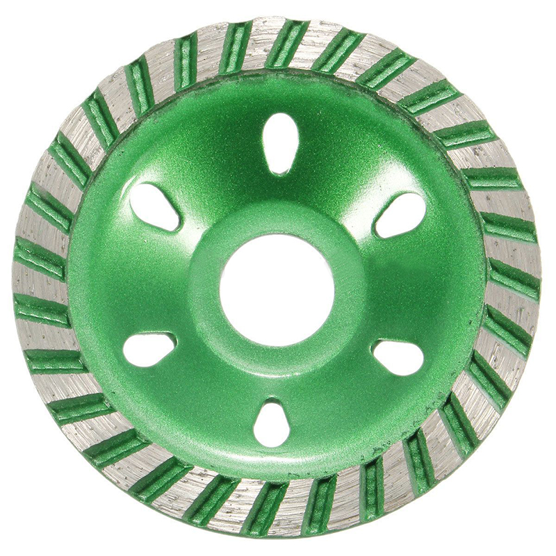цена на Diamond Grinding Cup Wheel Cutting Disc Concrete Masonry Stone Grind Tool 100mm
