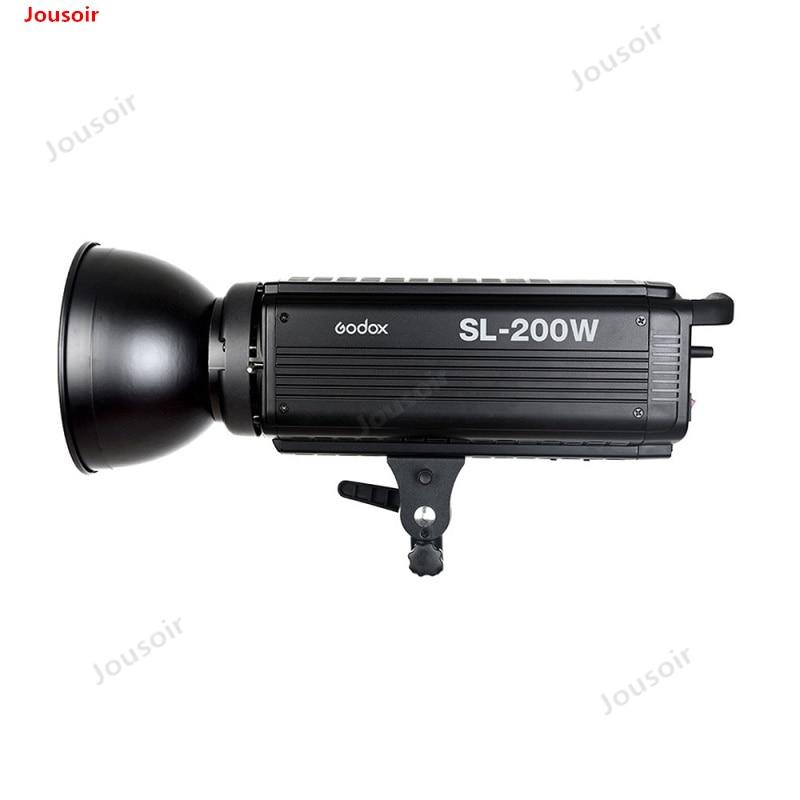 Godox SL-200W LED lumière vidéo 5600 K Studio lumière de remplissage photo lumière LED Bowen lumière blanche pour studio vidéo CD45T03P