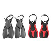 Snorkeling Diving Swim Fins Adjustable Adult Men Women Foot Flippers Swimming Gear Soft and Flexible Water Sports Equipment