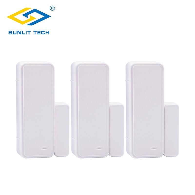 1/3/6/10pcs Wireless Door Window Sensor 433Mhz Magnet Detector Wifi Door Opening Sensor for G90B Plus Home Security Alarm System стоимость