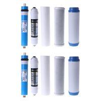 "10 ""cinco Conjunto Filtro Purificador de Água de Osmose Reversa fase Cartucho Elemento|Peças p/ bebedouro|   -"