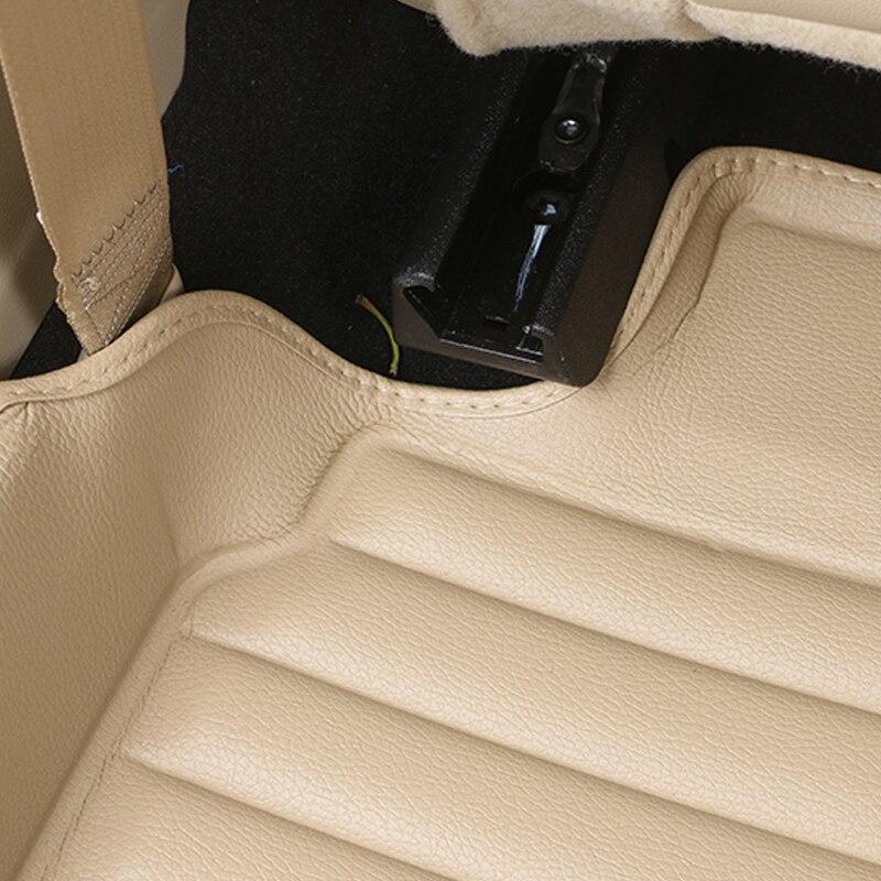 Voiture Croire Auto voiture tapis de Pied Pour bmw f10 x5 e70 e53 x4 f11 x3 e83 x1 f48 e90 x6 e71 f34 e70 e30 accessoires étanches - 5