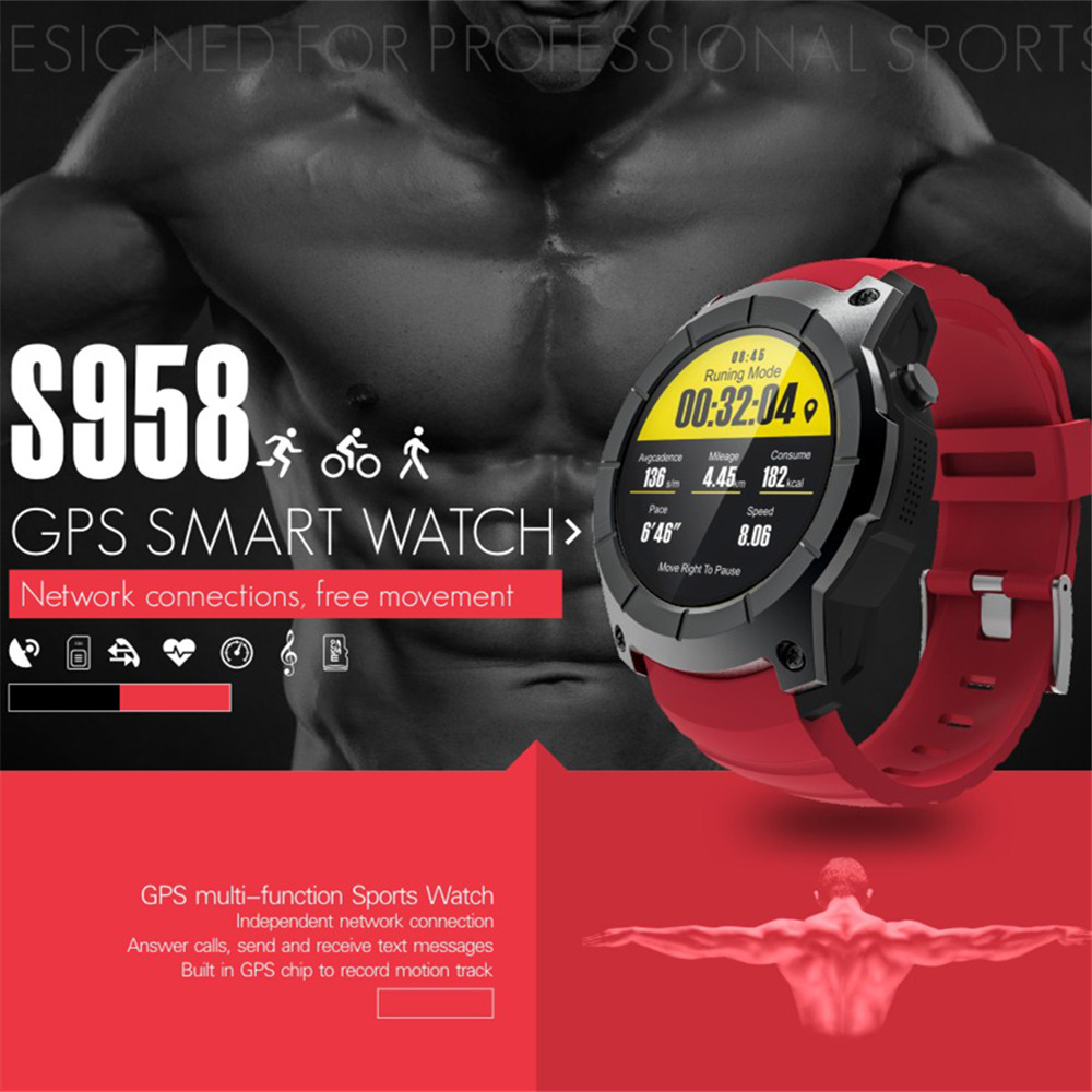 OGEDA Men GPS Smart Watch Answer/Dial Call Swim Shock Resistant Bluetoooth Sport Heart Rate Barometer Monitor for Android IOS OGEDA Men GPS Smart Watch Answer/Dial Call Swim Shock Resistant Bluetoooth Sport Heart Rate Barometer Monitor for Android IOS