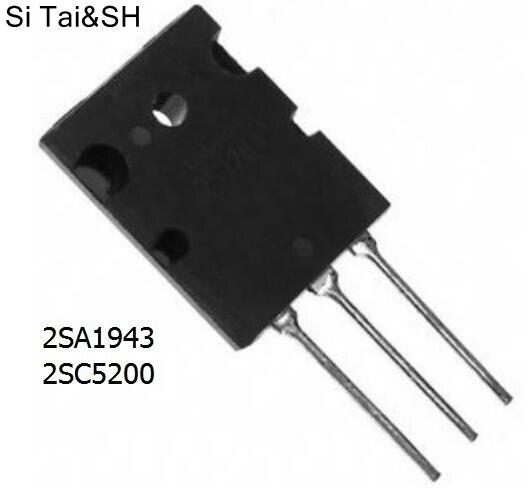 Replacement Parts & Accessories Logical 10pcs 2sa1943+10pcs 2sc5200 A1943 C5200 Imported Dismantled Audio Power Amplifier Pair Video Games
