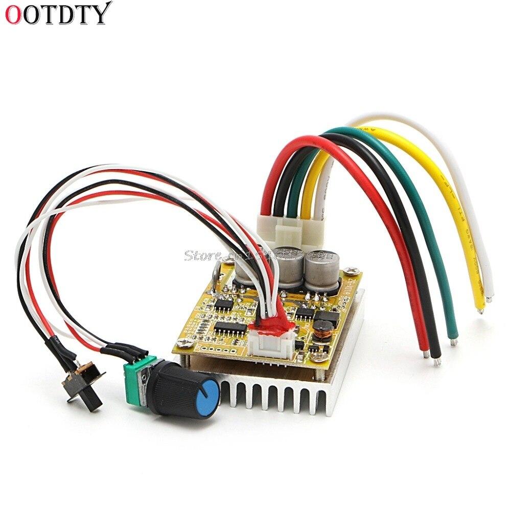 Ootdty 350w 5 36v Dc Motor Driver Brushless Controller Bldc Wide Adjustable High Power Led Voltage Supply Ac 110v 240v To 9 24v 3a 12v