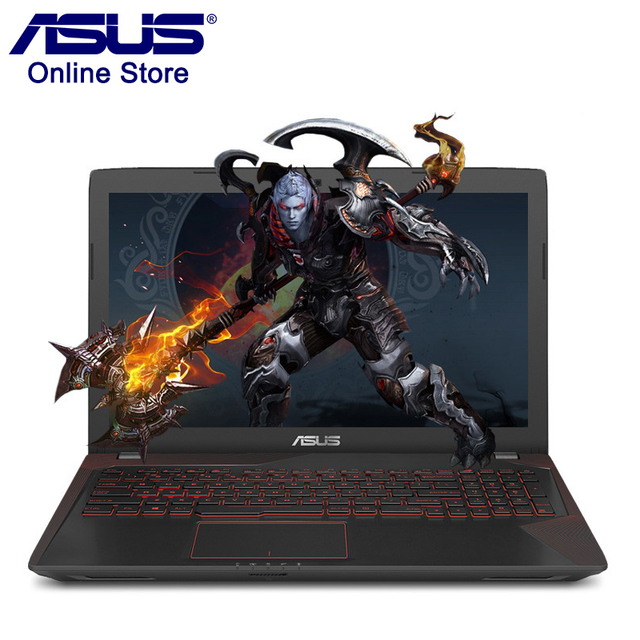 New ASUS FX53VD Gaming Laptop 4GB RAM 1TB ROM 15.6inch Windows10 Pro Dual Graphics Cards Intel I5 7300HQ 2.5GHz GTX1050 Notebook