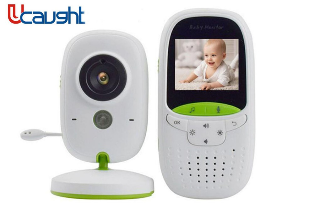 New VB602 Wireless baby monitor with camera Video electronic Security VB602 2 Talk Nigh Vision IR LED Temperature Monitoring