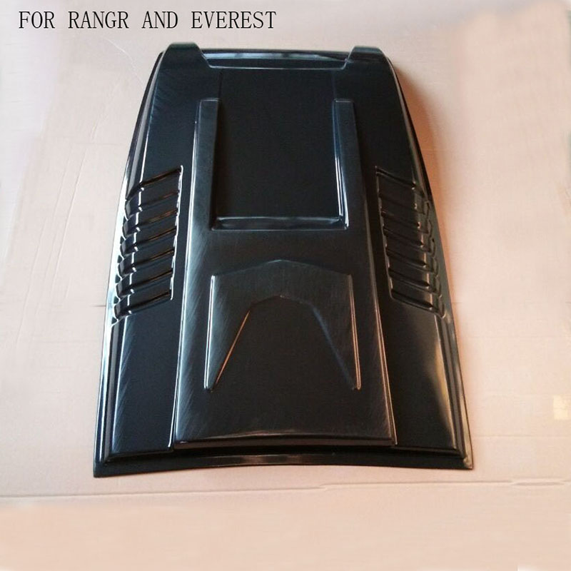 2012 2017 ranger t6,T7XLT EVEREST Car Styling Stickers Decorative Air Flow Intake Scoop Turbo Bonnet Vent Cover Hood
