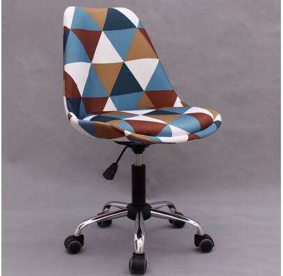Купить с кэшбэком Small computer chair. Pulley small Home student book desk chair. Office chair003