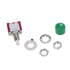 Image 5 - 5 Pcs 3Pin C NO NC 6mm Mini Momentary Automatische rückkehr Push Taste Schalter AUF (AUF) 2A 250VAC/5A 120VAC Kippschalter