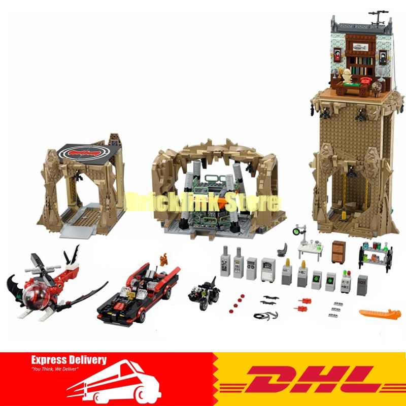 IN Stock LEPIN 07053 2566PCS DC Batman Super Heroes Batcave Educational Building Blocks Bricks Toys Model Gift Compatible 76052 lepin 07053 2566pcs genuine dc batman super heroes moc batcave educational building blocks bricks toys gift for children 76052