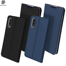 Flip Case For Samsung Galaxy A70 Soft Bumper Shockproof Protective Card Slot Holder Kickstand Wallet Stand PU Leather TPU Cover stylish soft flip open pu case w stand card slot for samsung galaxy s5 deep blue