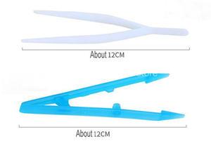 Image 4 - 100 cái/lốc Dùng Một Lần y tế vô trùng Tá dược Nhíp nhựa Đầm kẹp V hình nhíp