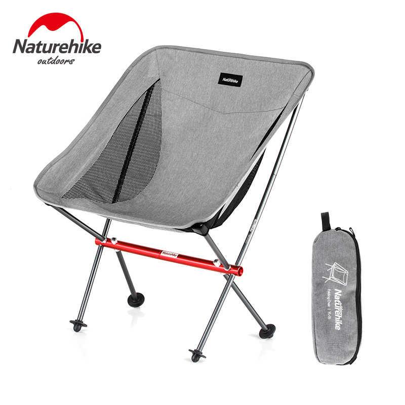 7ba850289e Naturehike Lightweight Portable Outdoor Aluminum Compact Folding Beach  Chair Fold Up Fishing Picnic Chair Foldable Camping Chair