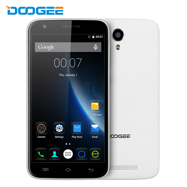 DOOGEE Y100 Plus Android 5.1 4G Smartphone 2G RAM 16G ROM OGS Screen Cell Phone MTK6735 64bit Quad Core 13MP Camera Mobile Phone