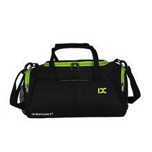 d6d1eda3f0 Sport Gym Bag Outdoor Waterproof Women Big Tote bag School Fitness Bag Men  Travel Shoulder Training Camping Yoga Duffle Bag