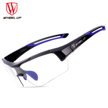 WHEELUP Cycling Photochromic Glasses Outdoor Sports MTB Bike Sunglasses Anti-UV Windproof Bicycle Goggles Eyewear gafas ciclismo