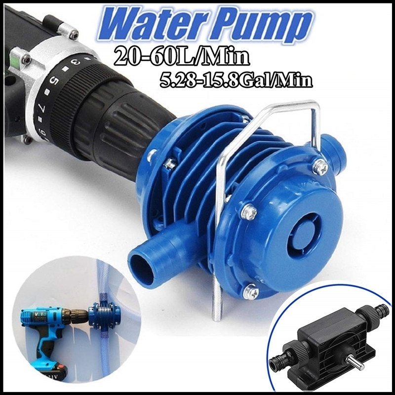 Mini Manual Drilling Pump Fish Tank Water Replacement Self-priming Pump Garden Garden Car Cleaning 20-60L Centrifugal Pump