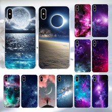 Space Planet Stars Phone Case For iPhone X Luxury 3D Relief Soft Back Cover For Apple iPhone 5s SE 5 8 7 6 6s Plus Cases Coque