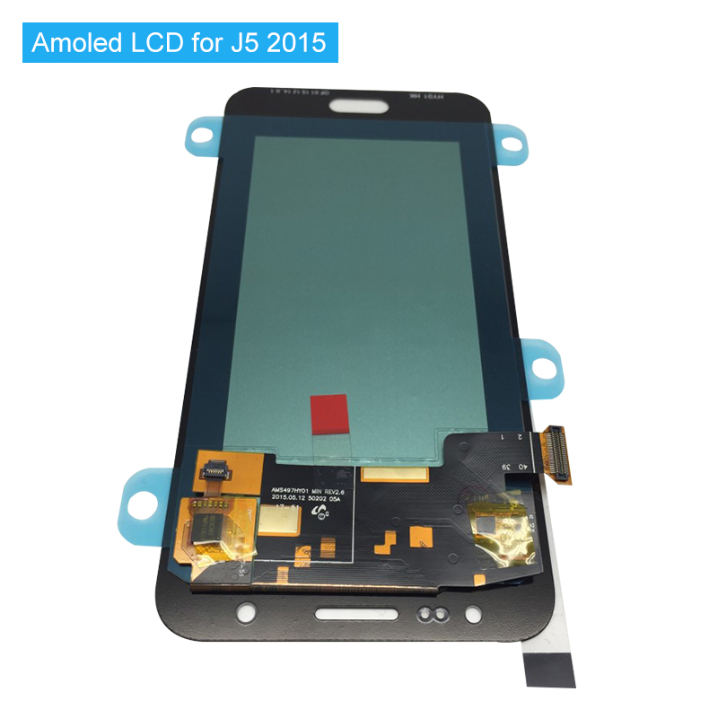Super AMOLED Replacement LCDs For Samsung Galaxy J5 2015 J500 J500F J500FN J500H J500M Complete New LCD Screen+ToolsSuper AMOLED Replacement LCDs For Samsung Galaxy J5 2015 J500 J500F J500FN J500H J500M Complete New LCD Screen+Tools