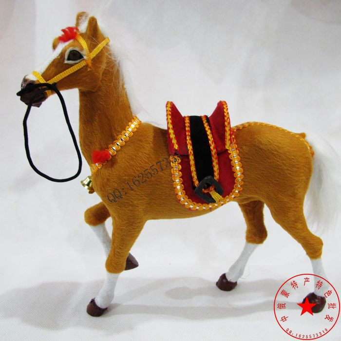 simulation animal sound whinny horse model toy handicraft decoration,baby toy, baby toy gift d463