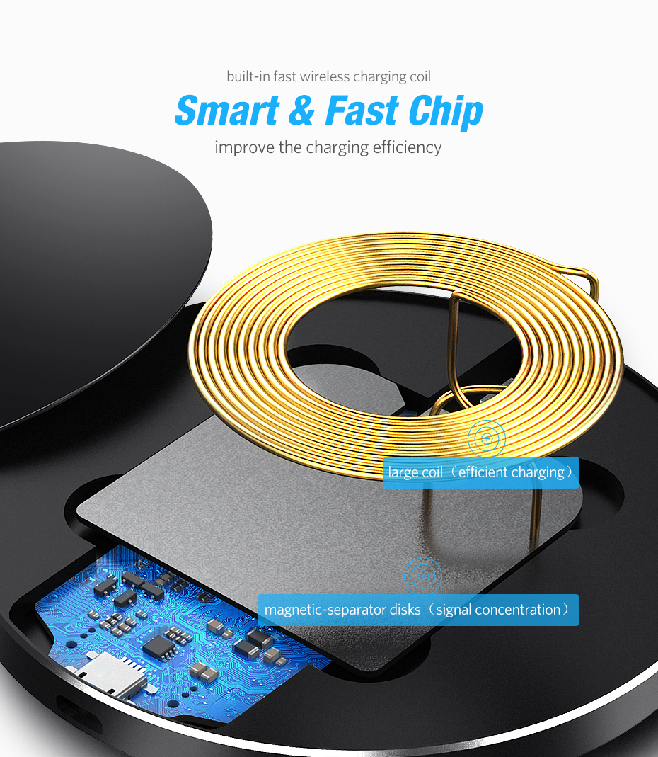 Smart Wireless Charger Pad 7