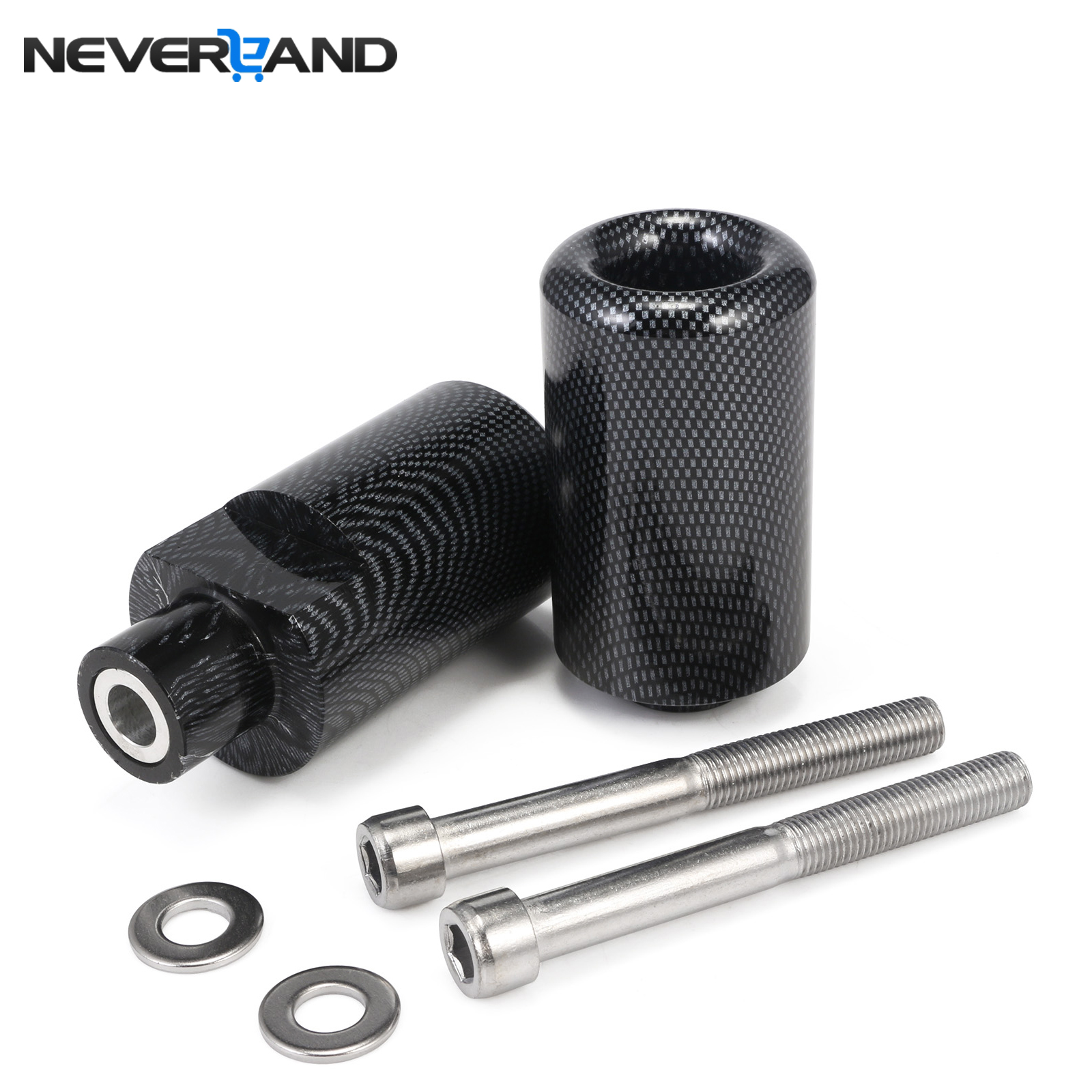 Motorcycle Frame Sliders Falling Crash Protector for Suzuki GSXR600 GSXR750 GSXR 600 750 2004-2005 Black Carbon Fiber D30 for suzuki gsxr600 gsxr750 gsxr 600 750 k4 tank side cover panels fairing 2004 2005 2pcs carbon fiber motorcycle parts