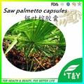 Alta quanlity natural cápsulas de Extrato de Saw palmetto 500mg-650mg * 100 pçs/lote frete grátis