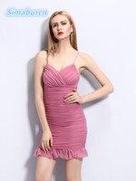 Womens Dress Summer 2018 Sexy V Neck Backless Women Sundress Party Club Mini High Waist Thin Sheath Pack Hip Dresses Vestidos