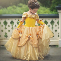 Godier Girlsteenager Dress Girl 5 6 7 8 Party Princess Dress Flamingo Costume Beauty And The Beast Clothes