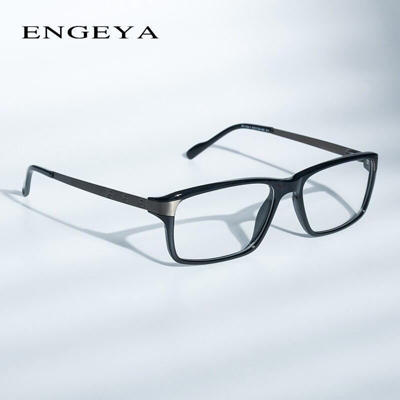 2ae506789d63f Homens Óculos Limpar Óculos de Marca Designer de Moda Óculos Ópticos Quadro Homens  Óculos de Prescrição