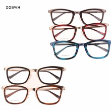 New top sale wholesale women glasses acetate stainess steel girl spectacles vintage oculos de grau feminino eyeglasses gafas 18k pure gold ring bead rose 750 genuine female girl miss gift wear fine jewelry trendy 2017 new hot sale top discount good
