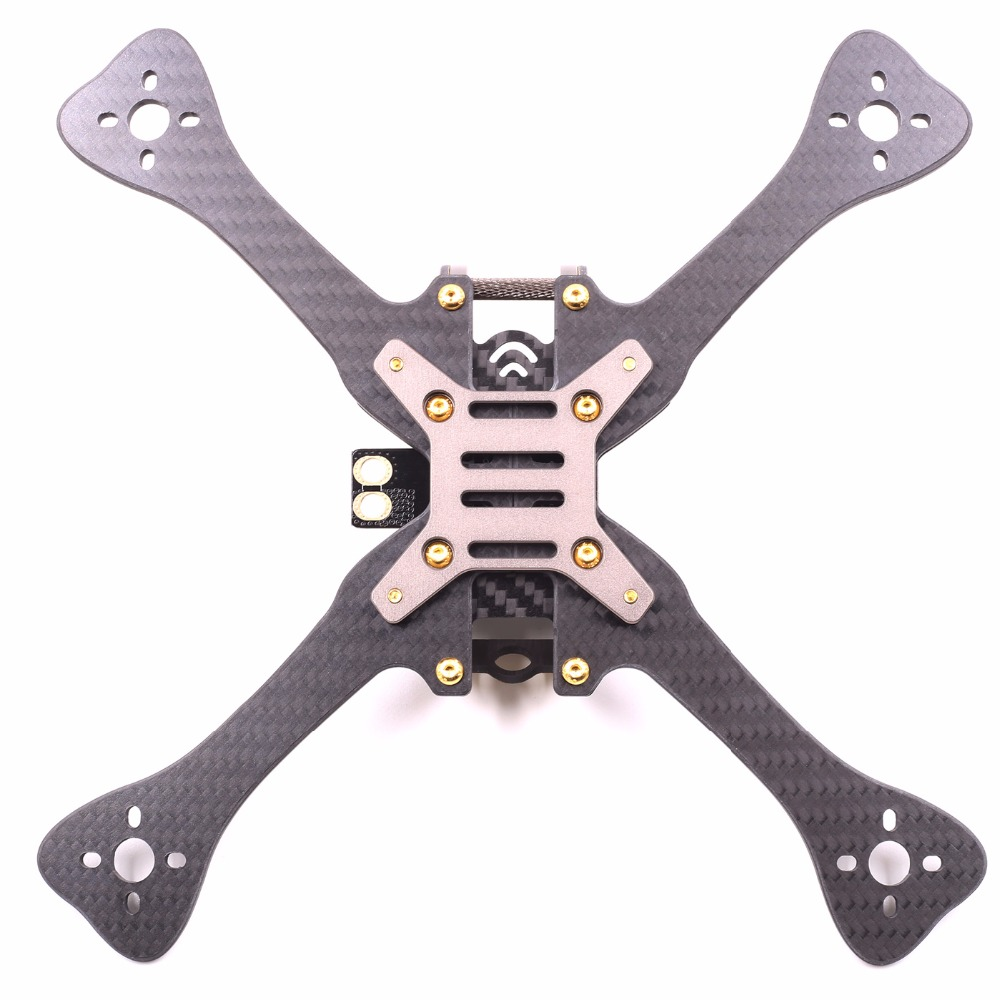 цена на GEP-LX5 7075 Aviation Aluminum Frame Body Shell 4/5/6 Inch Kit  for RC Racer FPV  Drone Quadcopter