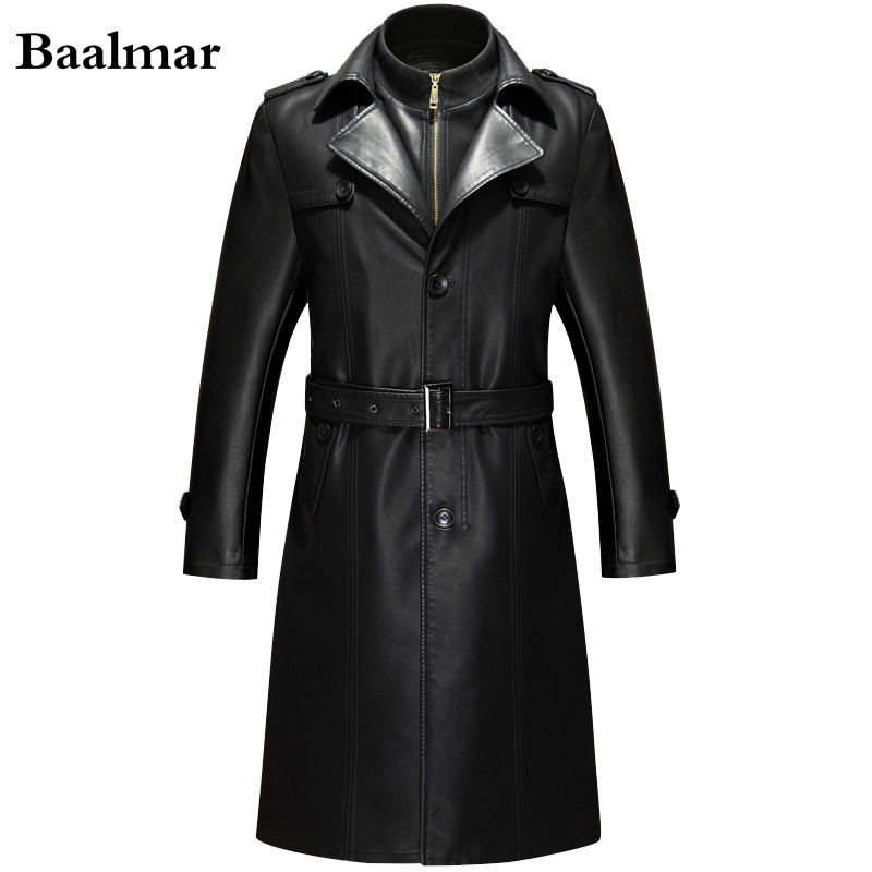 Jaqueta De Couro Leather font b Jacket b font font b Men b font Casual Pu